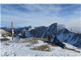Stol, Potoški Stol, Vajnež, Mali vrh, Brezov vrh in KamnitnikMalica na Vajnežu.