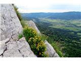 Gradiška turalep pogled na Vipavsko dolina