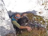 Javorca(Golte)vzpon na sfingo