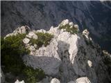 Rjavčki vrh ali Planinšca ( 1898m )sva šla malo naprej po grebenu...