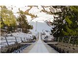 Dobrač Samo za pogumne Skoraj 100 metrška skakalnica v Beljaku.