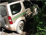 Tudi tnp ranger je imel težave s parkiranjem na Pl. Blato :)