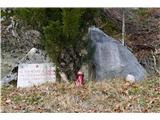 Gorska obeležja NOBdvoni spomenik