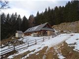 Vrtaško Sleme2019.01.06.24 bajta na Vrtaški planini