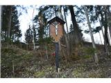 Znamenja (križi in kapelice) na planinskih potehKriž v Goropekah.