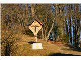 Znamenja (križi in kapelice) na planinskih potehNa poti.