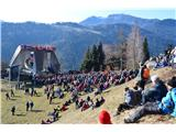 Šk.Loka-Križna gora-Planica-Čepulje-Špičasti hrib-sv.Mohor-DražgošeLepo je bilo.