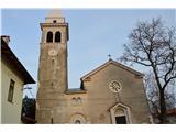 Znamenja (križi in kapelice) na planinskih potehCerkev Marije Vnebovzete v vasici Sela  na Krasu.