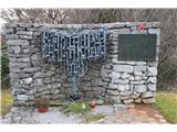 Gorska obeležja NOBBlizu je tudi ta pomnik.