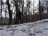 Debenji vrh2019.01.22.10 na grebenu hriba