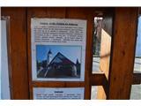 Znamenja (križi in kapelice) na planinskih potehCerkev Sv. Trojice v  vasi Ajdovec.