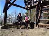 Debenji vrh2019.02.18.22 počitek pod stolpom