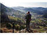 Po poteh Vinske goreRazgledi z Gonžarce