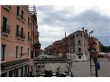 SU E ZO - gori doli po mostovih BenetkZačetek naše poti