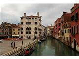 SU E ZO - gori doli po mostovih BenetkEden od številnih trgov. Nekateri so večji, drugi komaj omembe vredni