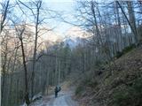 Kamniško sedlo- sončni vzhod2019.04.16.04 prvi koraki