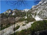 Kamniško sedlo- sončni vzhod2019.04.16.20 Bosova grapa