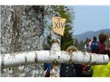 Znamenja (križi in kapelice) na planinskih potehNobeden ne manjka. Vsi so oštevilčeni.