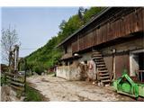 Rokovnjaška planinska potTu so doma predvsem kmetije