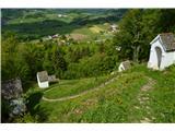 Planina pri Sevnici-Sv. Križ-730mZanimive kapelice.