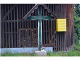 Znamenja (križi in kapelice) na planinskih potehKriž na izhodišču.