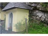 Znamenja (križi in kapelice) na planinskih potehV bližini je tudi kapelica .