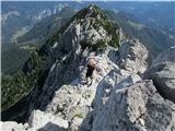 Krofička (2083m)Tik pod vrhom.