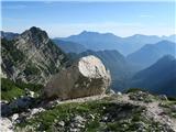 Vrbanove špice2019.08.10.33 Debeli kamen visoko nad dolino
