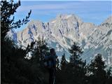 Krofička (2083m)pa Tursko goro in venec Rink tudi