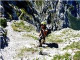 Krofička (2083m)sestop