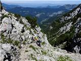 Krofička (2083m)izpuljeni klin ne moti
