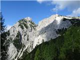 Dolgi hrbet - SkutaV. Baba in Ledinski vrh