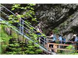 Slovenski slapovi vodotokov Pot je dobro varovana .