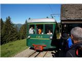 Mont Blanc / Monte BiancoZobata železnica te popelje še nekaj sto metrov višje od gondole