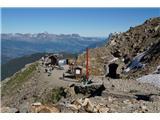 Mont Blanc / Monte BiancoOd gornje postaje zobate železnice se začne vzpon