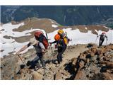 Mont Blanc / Monte BiancoZ vsakim korakom pridobivamo višino