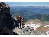 Mont Blanc / Monte BiancoPrvi dan je bilo čudovito vreme