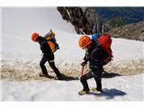 Mont Blanc / Monte BiancoUhojena pot in mehak sneg