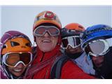 Mont Blanc / Monte BiancoSkupna na vrhu ... Marjan, Jana, Mateja in Emil