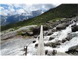 Grosses Wiesbachhorn 3564 mbrez brvi bi bil prehod nemogoč