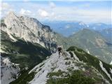 Krnička gora iz Matkove Krnice...nato na greben.