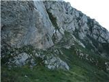 Grintovec in Kočnatu dol sva se spustila v Dolce