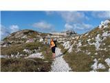 Prečenje celotnega grebena Spodnje Bohinjskih gora