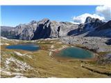 Lastron dei Scarperi (2957)ob povratku pa še do jezerc