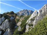 Mrzla gora...se prvič prikaže vrh Mrzle gore.