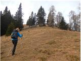 Stegovniksicer malo izven smeri markirane poti, a na vrh Malega Javornika je samo 10 min