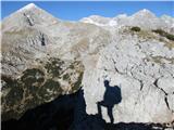 Kalška goraAvtoportret na steni