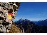 Monte PisimoniMarkacij je dovolj in so dobro vidne