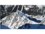 Begunjščicapogled na greben