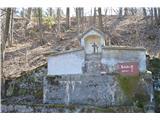 Znamenja (križi in kapelice) na planinskih potehOpuščena kapela v bližini planinske koče na Kopitniku.